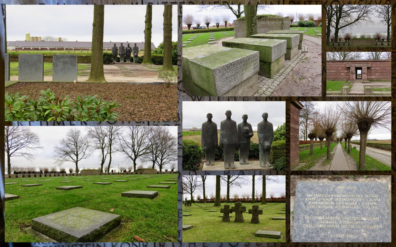 Langemark German Cemetery - Flanders Fields