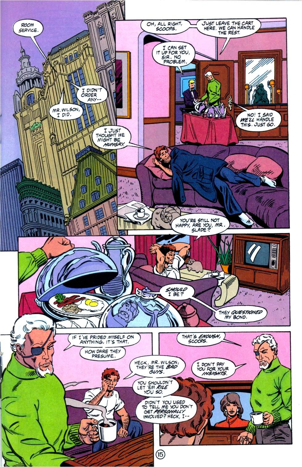 Deathstroke (1991) Issue #6 #11 - English 16