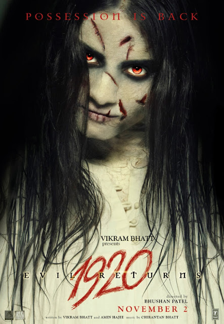 1920 Evil Returns 'Official Poster'