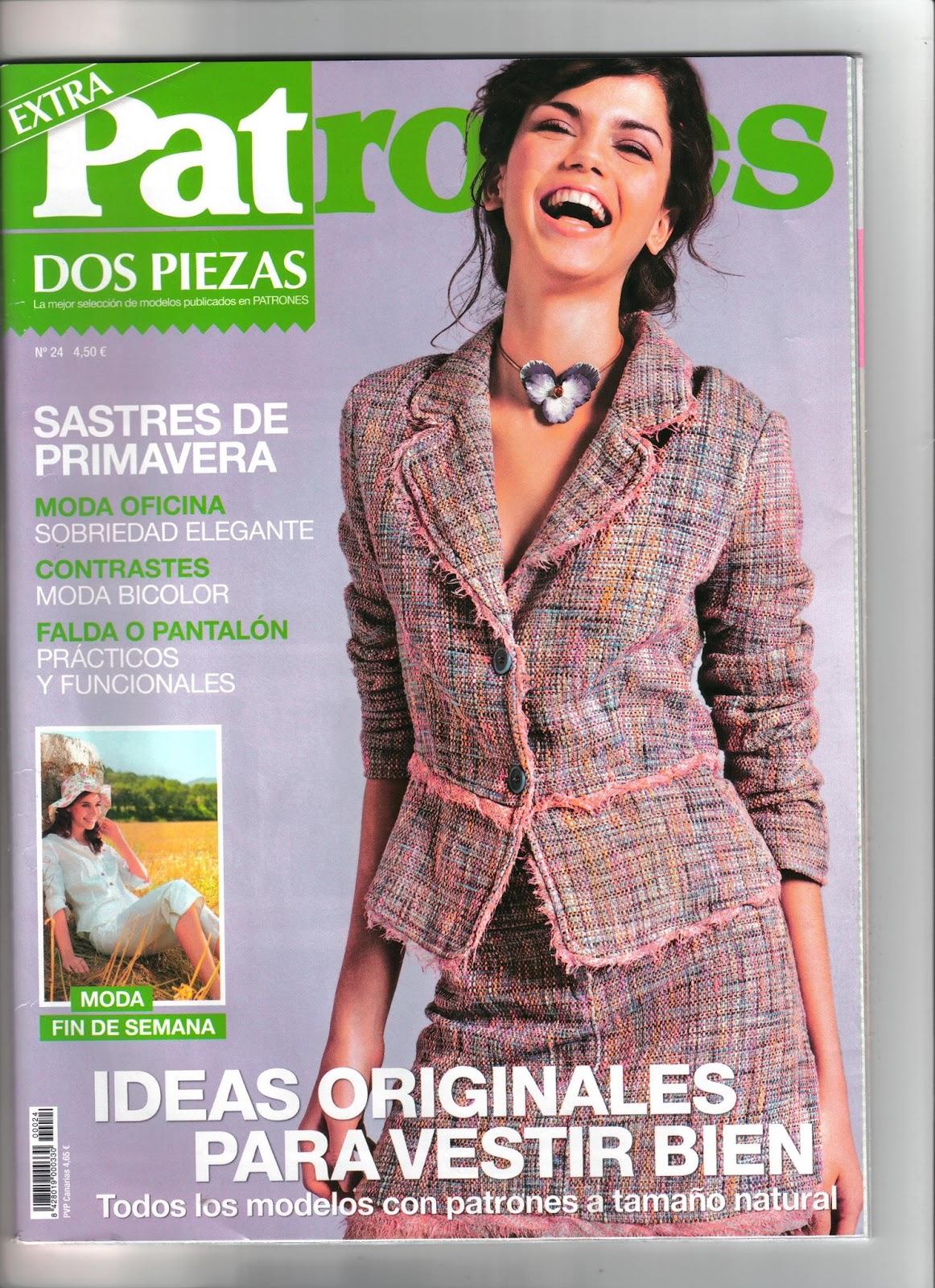 Chaqueta de la revista patrones yo elijo coser Revista fashion style magazine