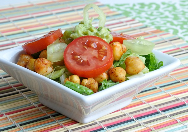 taco seasoned roasted chickpeas