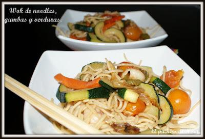 Receta del día: wok de noodles
