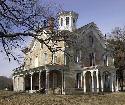 House Was Built In 1837 By Mathias Ham In Dubuque Iowa The House Was