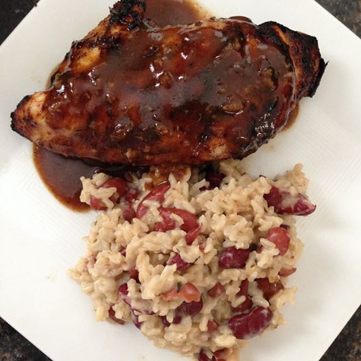 Simply Mangerchine: Jerk Chicken with Jamaican Red Beans ...