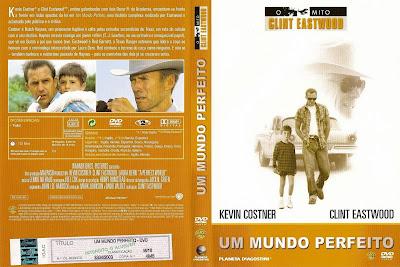 Um Mundo Perfeito DVD Capa