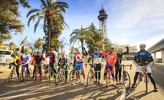 Cruise stop activity in Barcelona
