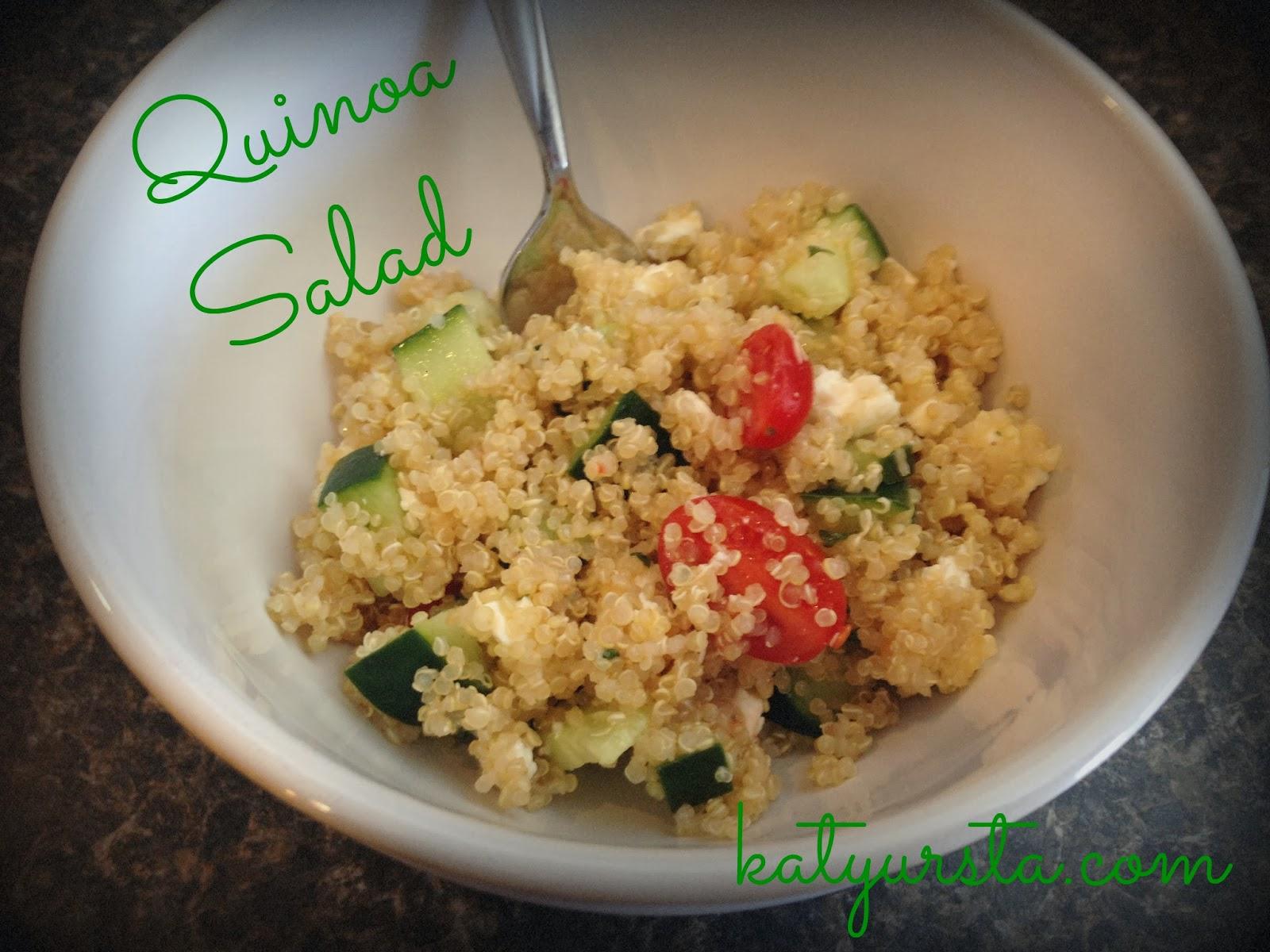 quinoa cucumber salad