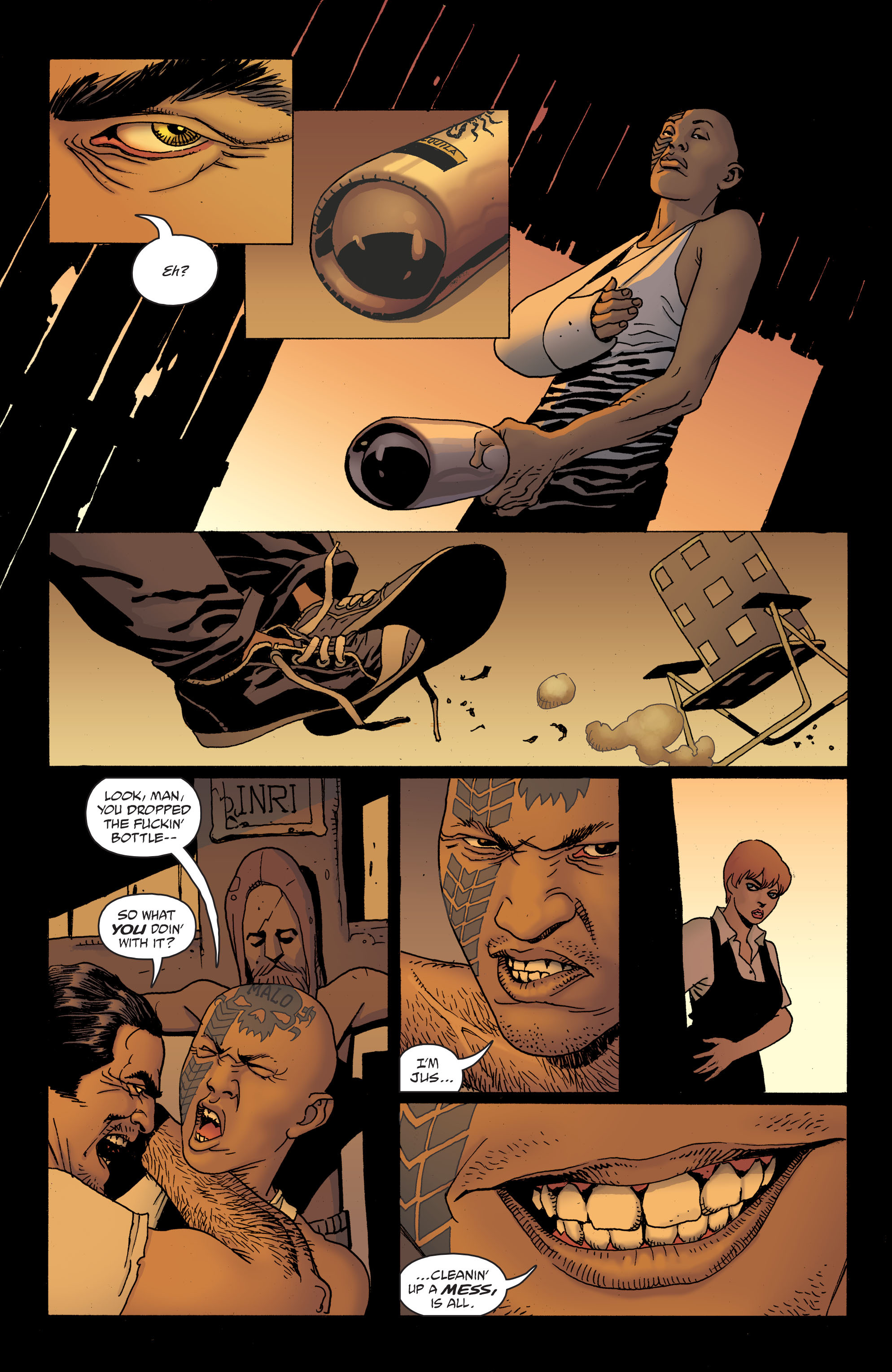 100 Bullets: Brother Lono Full Page 104