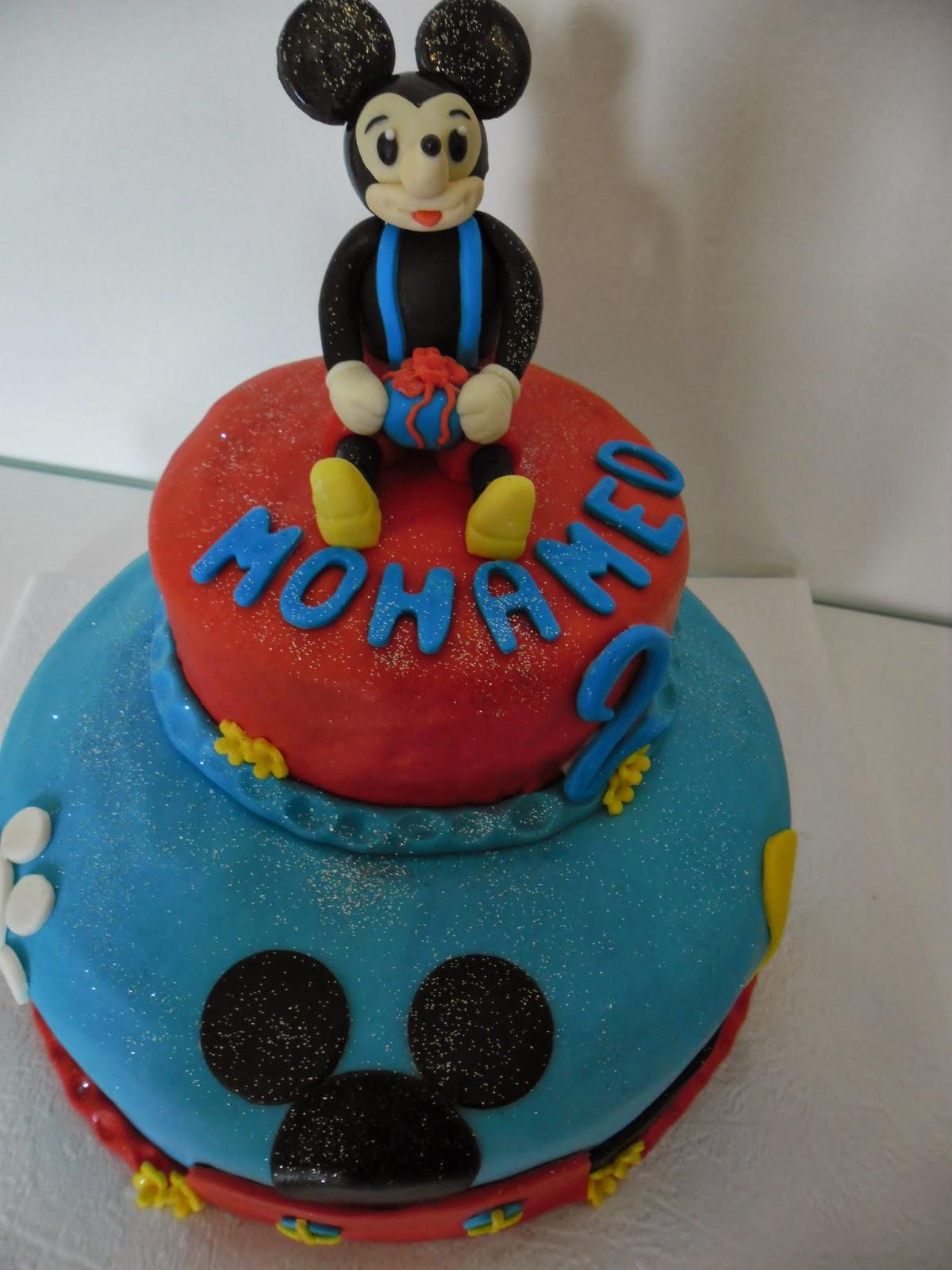Berühmt gâteau d'anniversaire Mickey Mouse | GATEAUX D'ALINE YV14