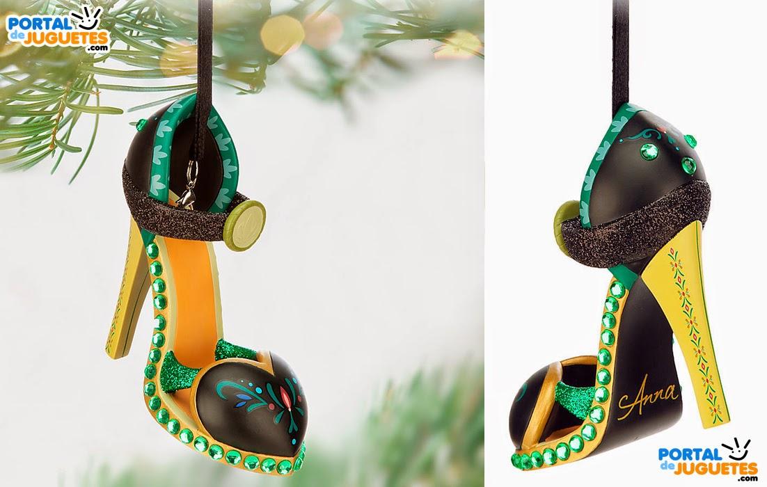 adorno navidad zapato anna frozen disney store