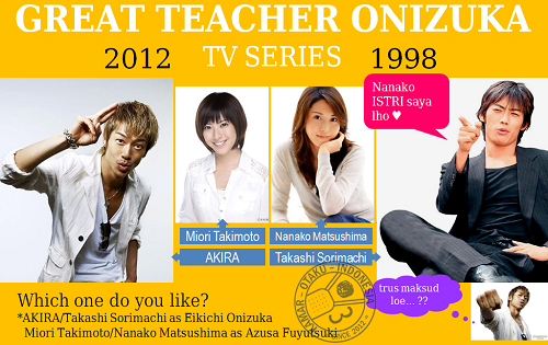 Great Teacher Onizuka Live Action 1998 - 2012