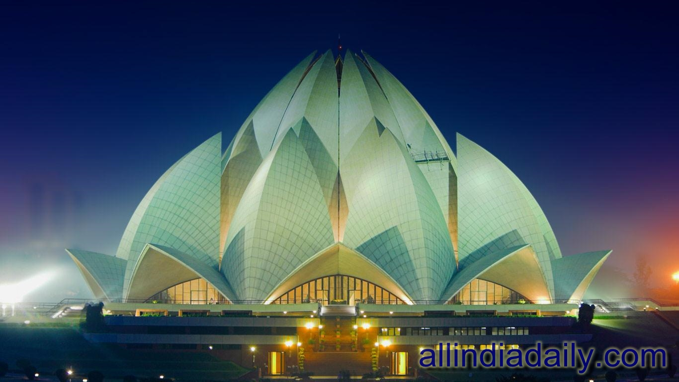 Image gallery lotus temple india for The lotus temple