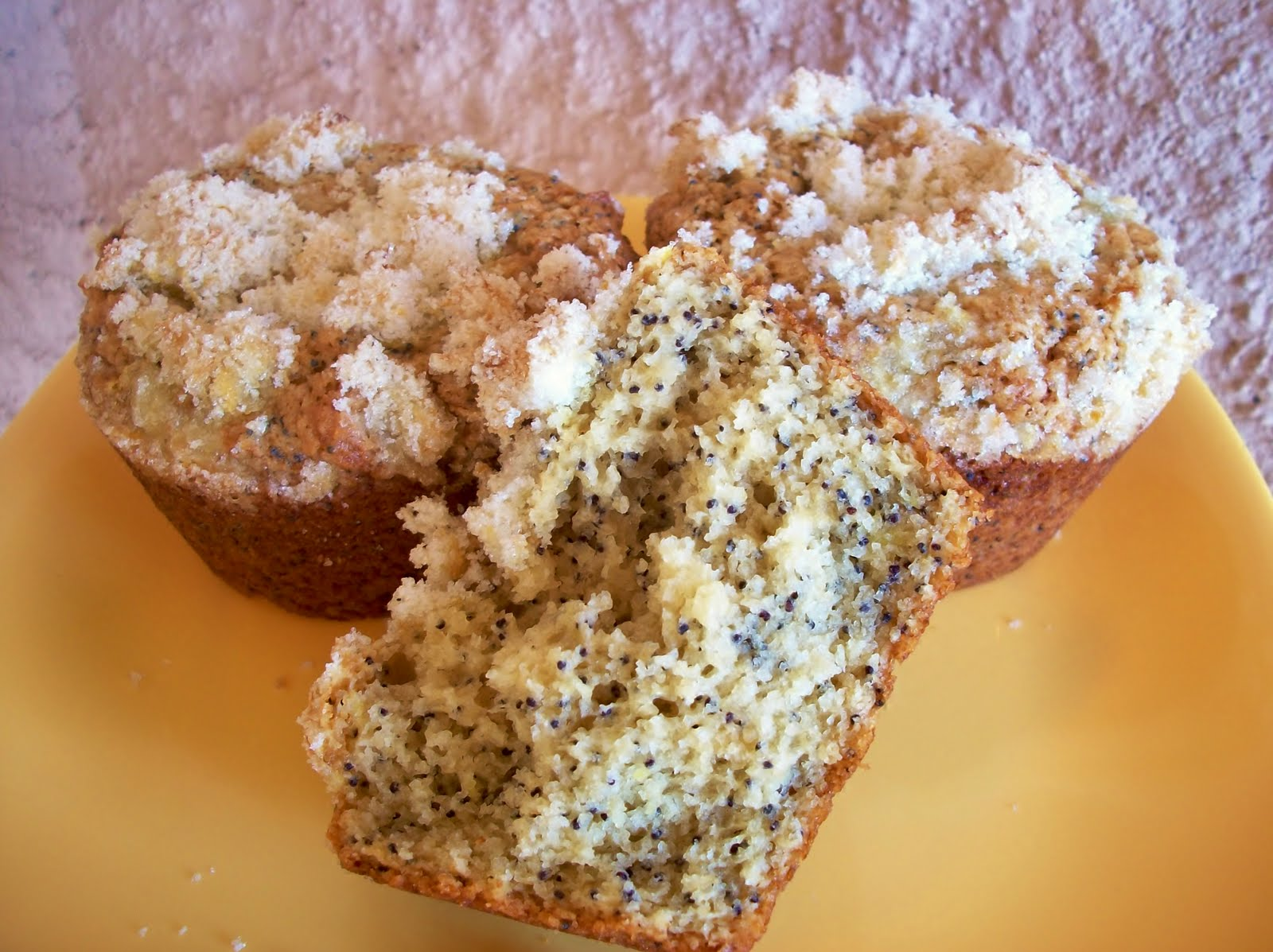 Cooking with Cristine: Lemon Curd Poppy Seed Muffins