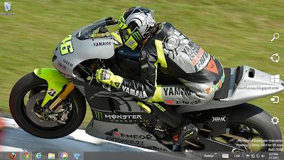 Valentino Rossi 2013 Theme For Windows