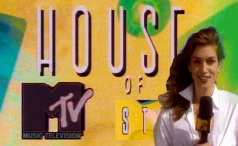 Cindy Crawford presenting House of Style on MTV