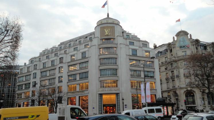 Donde queda el Luis Vuitton Paris en Champs-Elysees