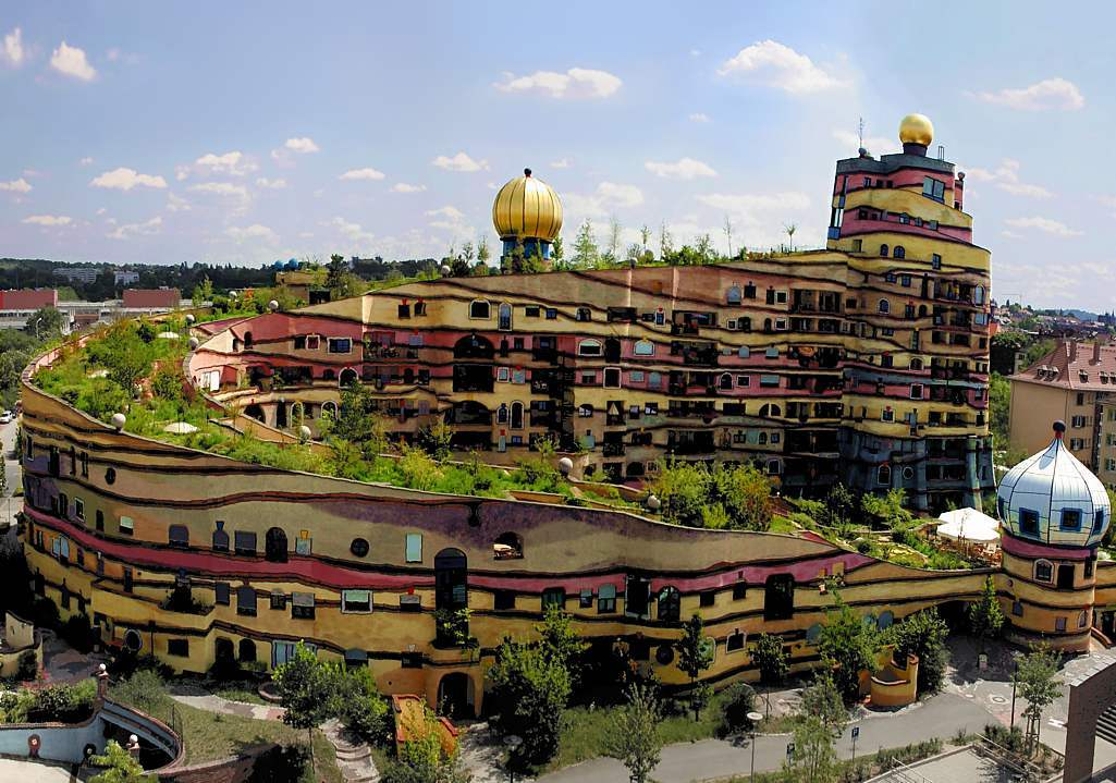 about something friedensreich regentag dunkelbunt On architecture hundertwasser