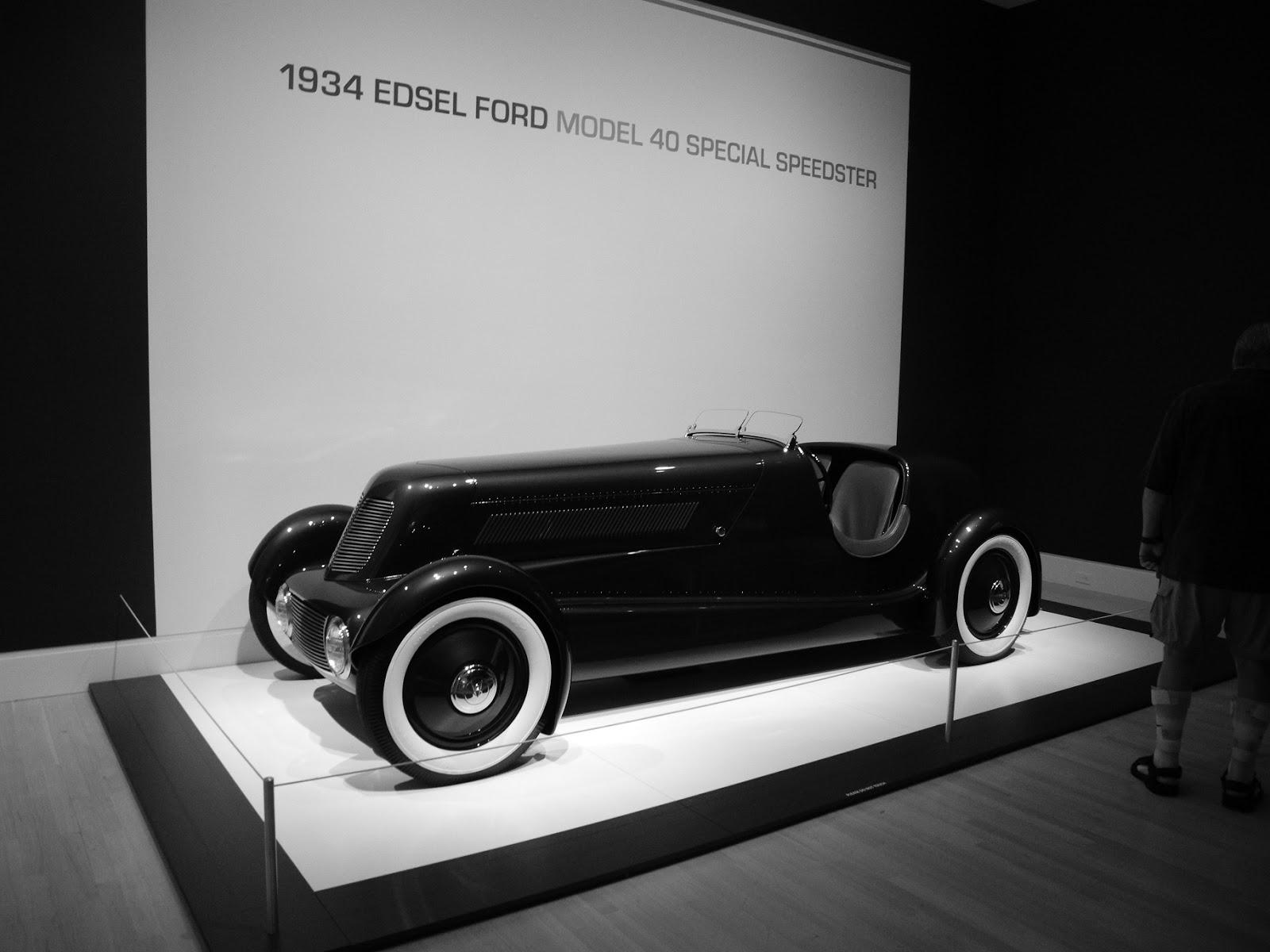 1934 Edsel Ford Model 40 Special Speedster. One of Edsel Ford\'s ...