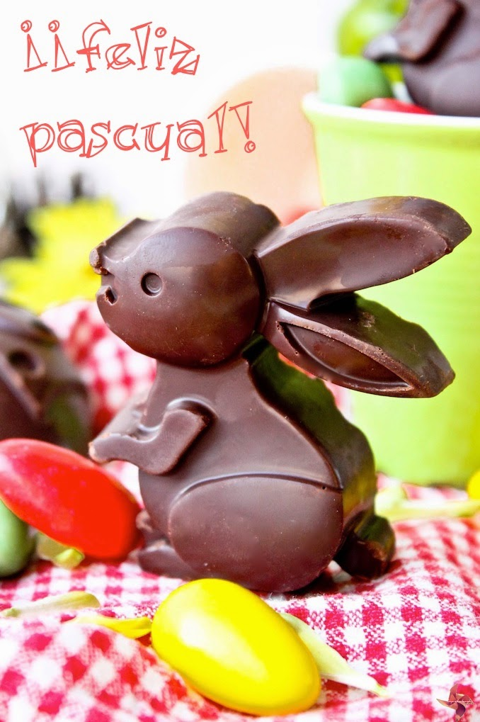 Conejitos de Pascua de Chocolate