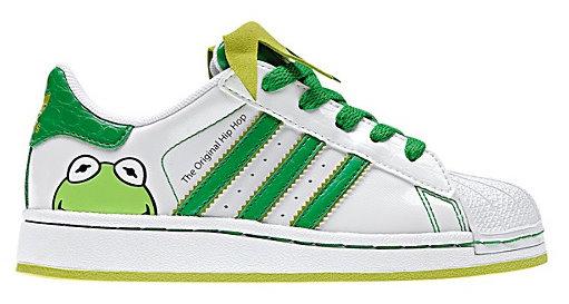 Kermit Adidas sneakers