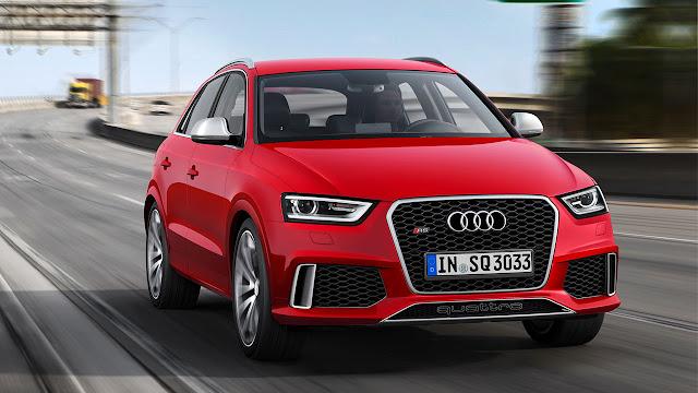 Audi RS Q Model side front