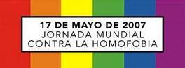 17 DE MAYO DIA MUNDIAL CONTRA LA HOMOFOBIA