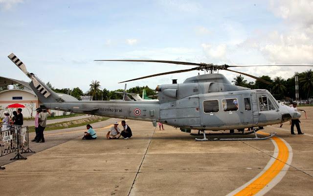 Thai Aircraft Sim.: Bell 412 กองทัพอากาศ