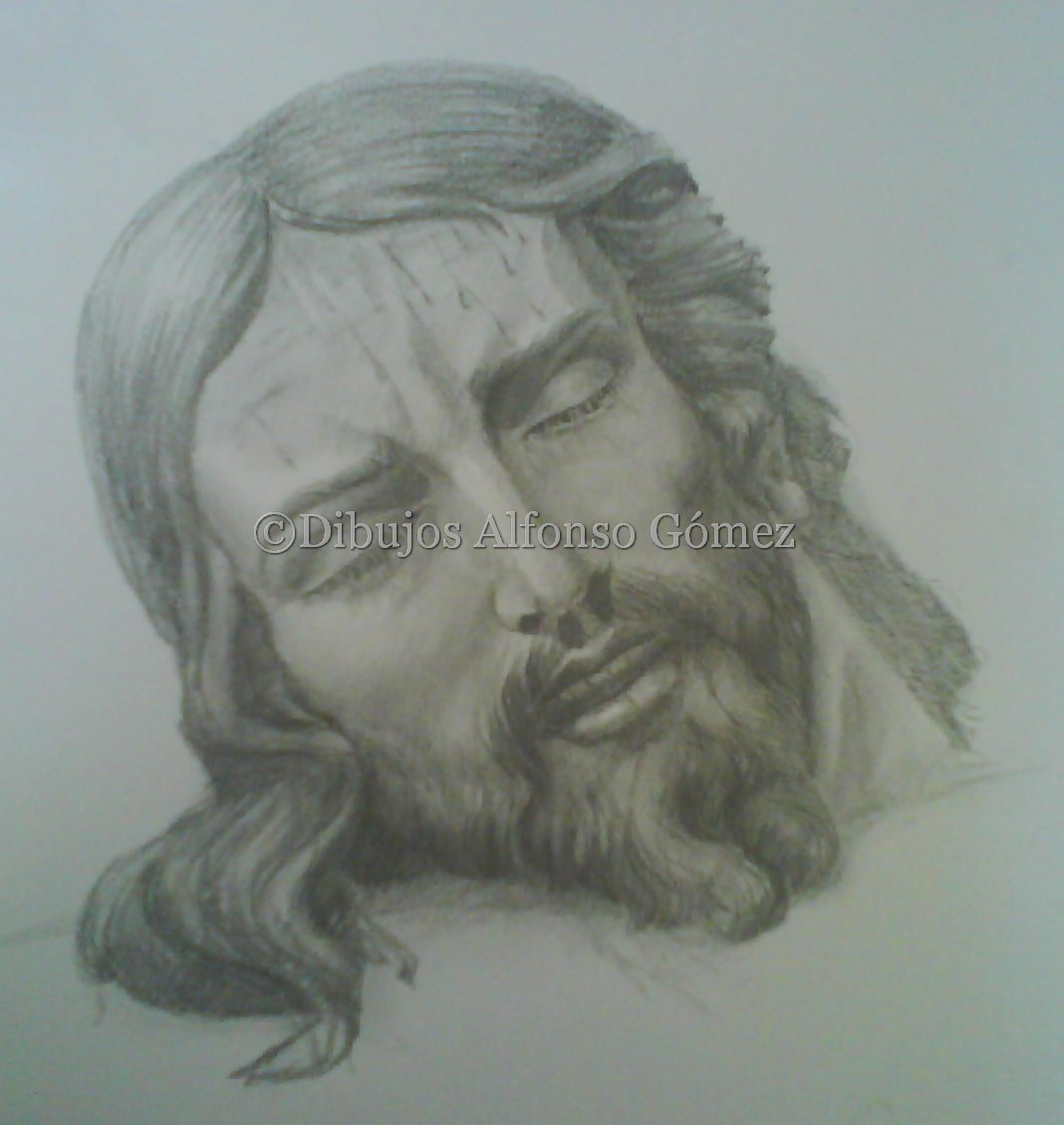 Dibujos Alfonso Gómez: Buena Muerte. Lápiz. No disponible
