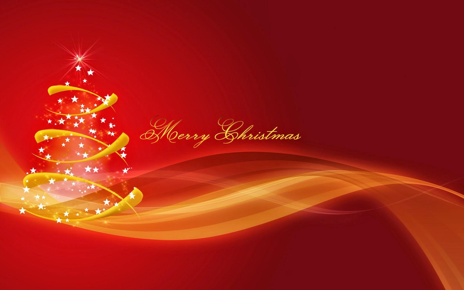 Merry Christmas Texted Xmas Tree
