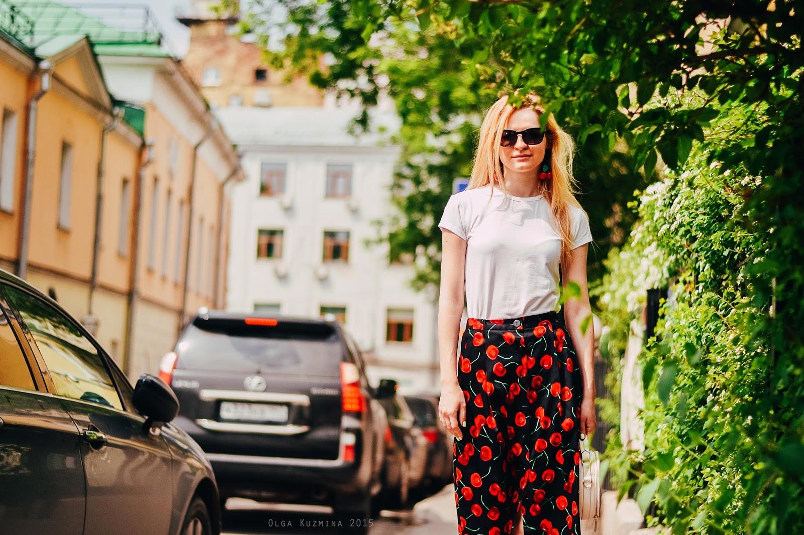 summer skirt look, street fashion, уличная мода,тренды сезона 2015