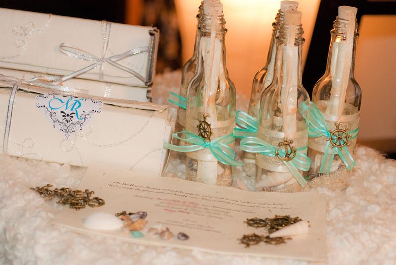 three weddingblog our diy message in a bottle wedding invi