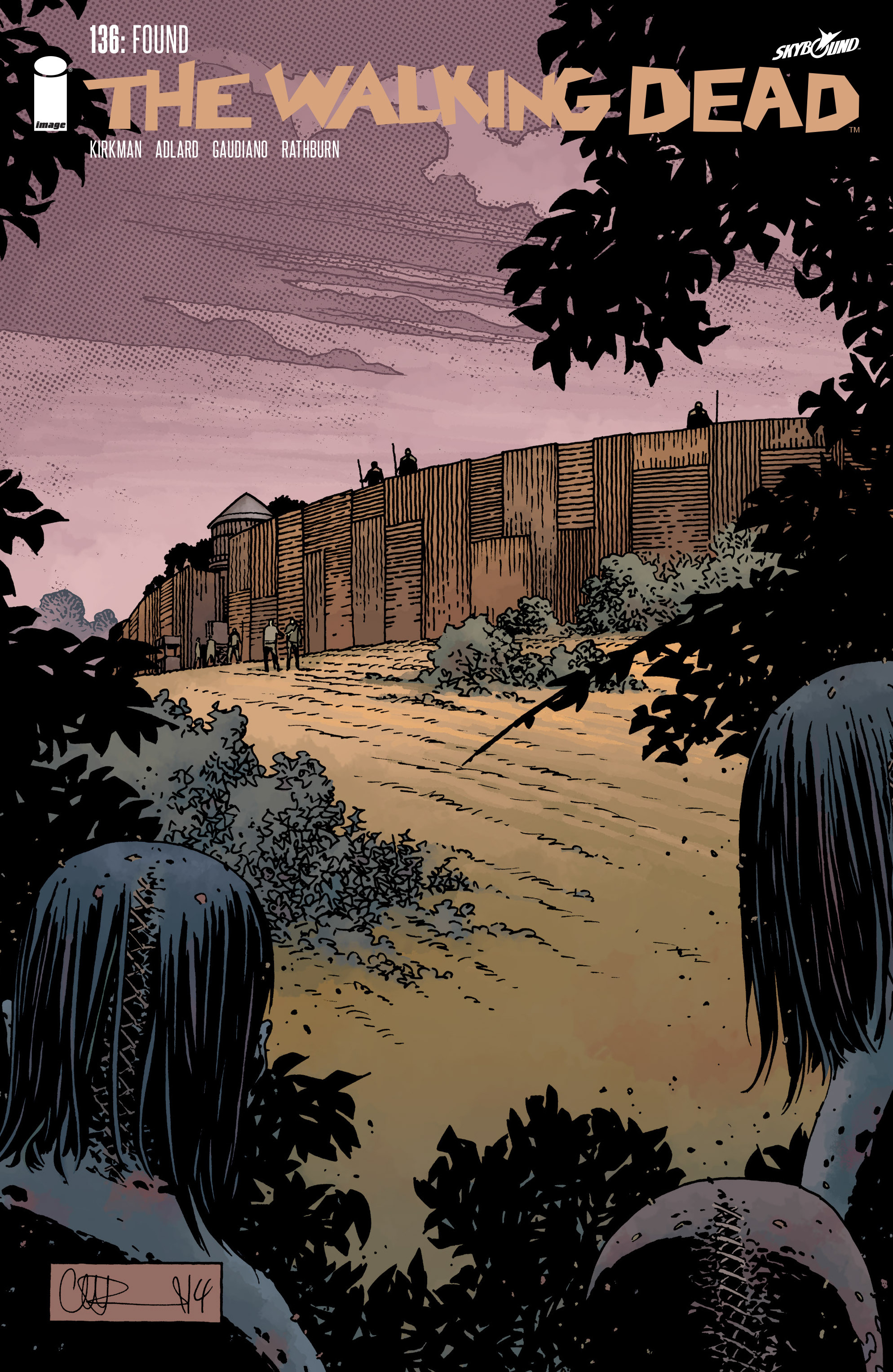 The Walking Dead Issue #136 Page 1