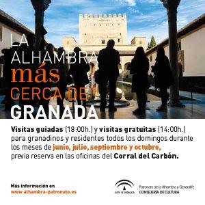 LA ALHAMBRA PARA LOS GRANADINOS