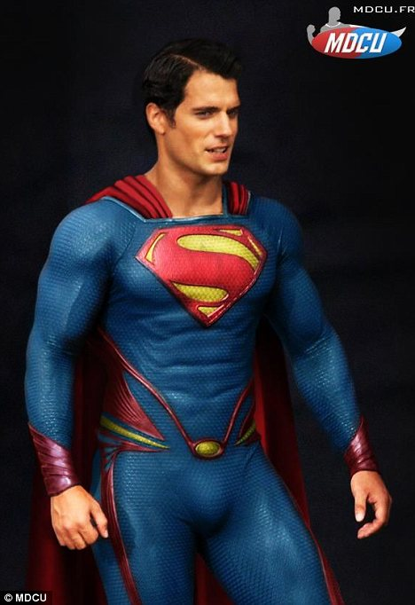 Superman baru sudah tidak pakai seluar dalam di luar