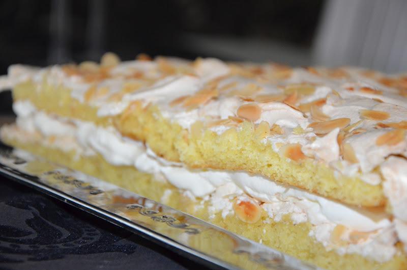 tårta långpanna maräng recept
