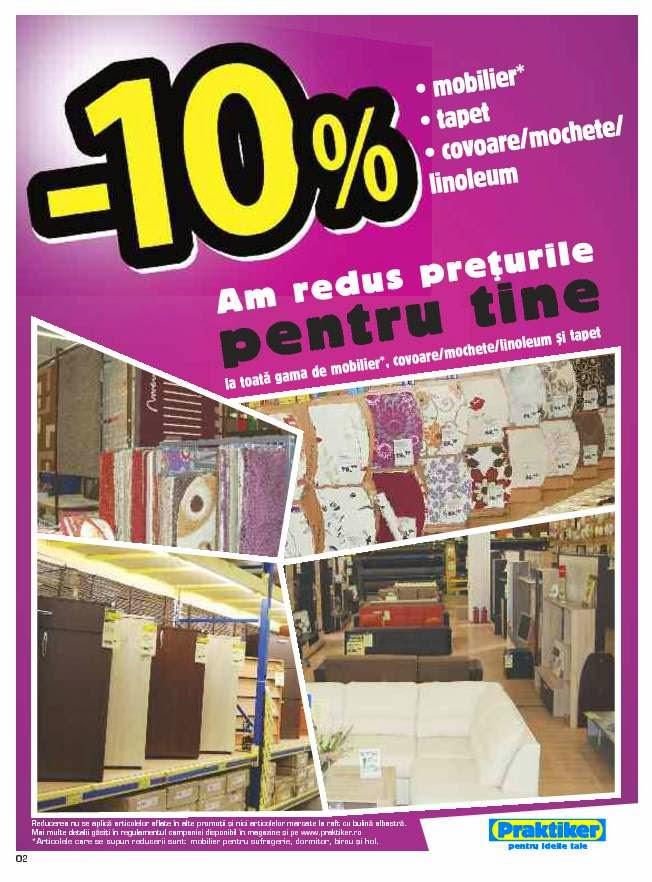 catalog oferte si promotii catalog praktiker piatra neamt februarie 2014. Black Bedroom Furniture Sets. Home Design Ideas