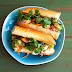 Lemongrass Shrimp Banh Mi