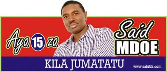Bofya Picha Kusoma Aya 15 za Said Mdoe