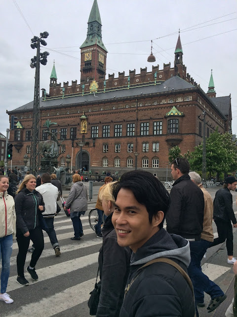 wisata, traveling, copenhagen, denmark, city hall