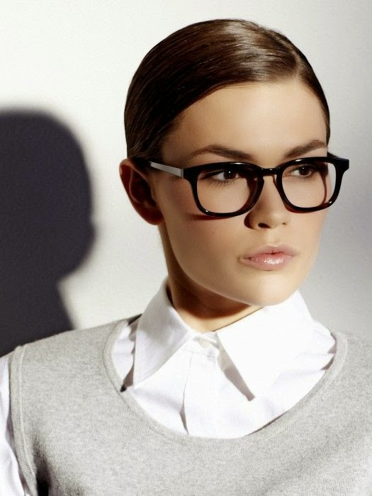 Kapsels en haarverzorging bril montuur trends winter 2015 brillenmode What style glasses are in fashion 2015