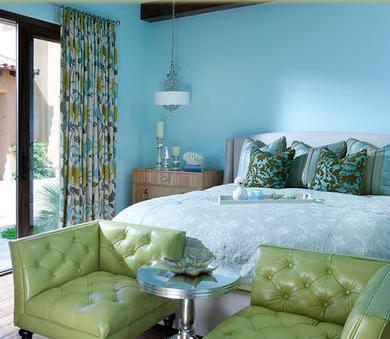 decorar habitaciones visillos dormitorio matrimonio