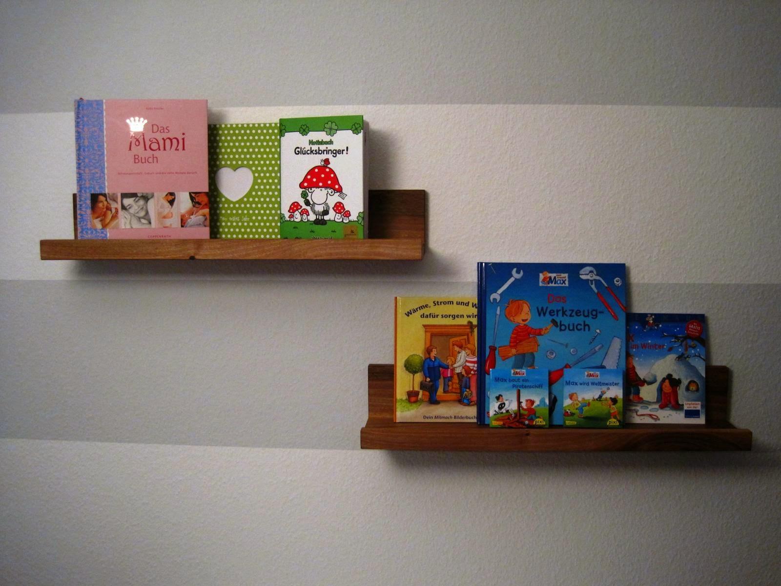 Bücherregal wand kinderzimmer  Basti´s Holzpage: Kleine Bücherregale für´s Kinderzimmer