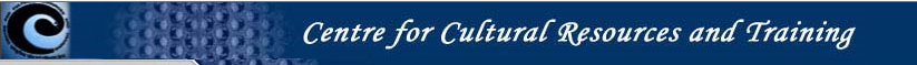 Centre for Cultural Resources and Training (CCRT) Logo