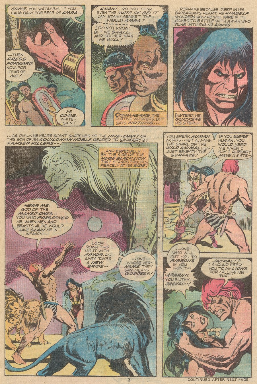 Conan the Barbarian (1970) Issue #63 #75 - English 4