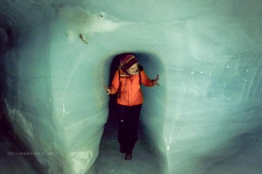 Inka im Eisstollen