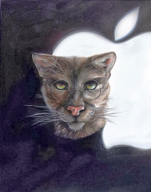 11-Steve-Jobs-Animals-From-History-Illustrator-&-Writer-Christina-Hess-www-designstack-co