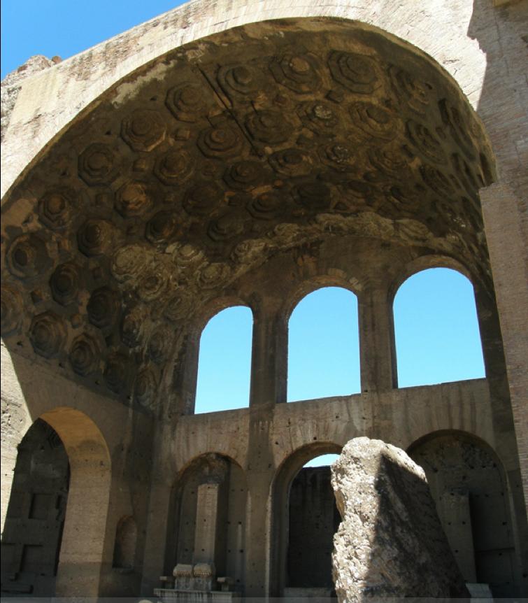 Roman Architecture Vault surface fragments: enter the vault