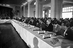 Bretton Woods meeting in July 1944