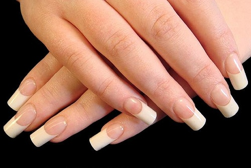 how to cut your own fake nails