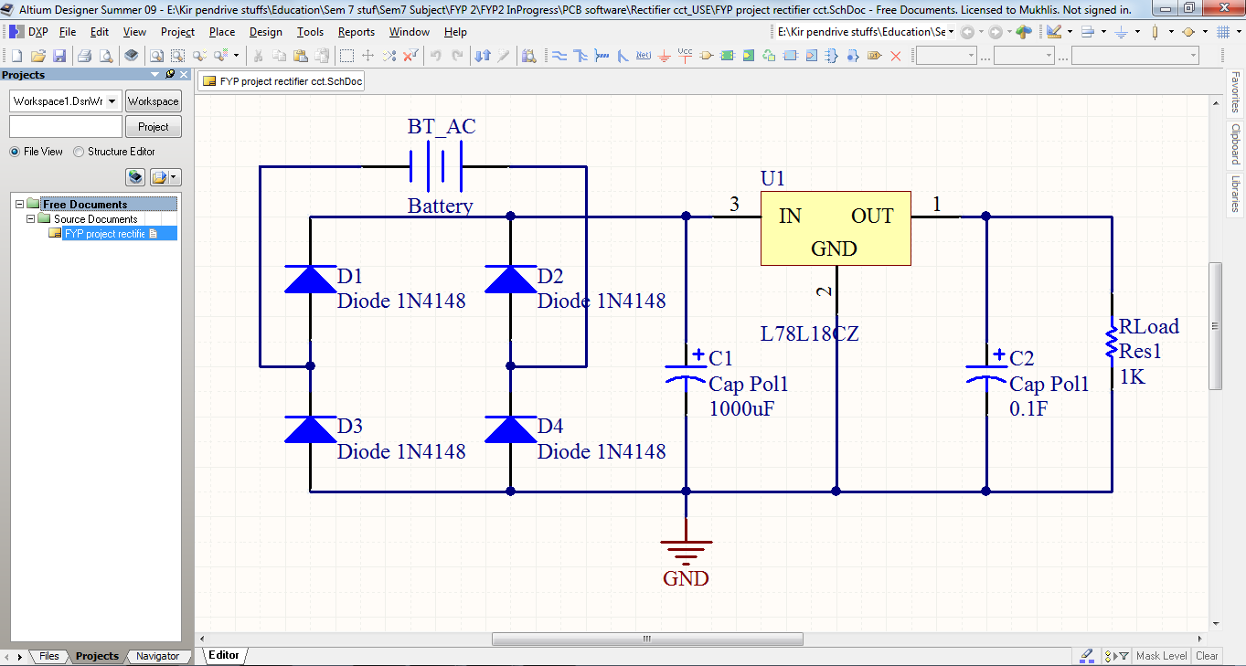 Amazing Free Electrical Schematic Software Gift - Electrical Circuit ...
